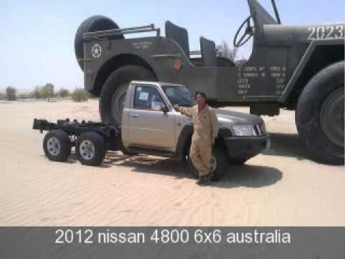 نيسان 6x6 - أعلى 2012 Nissan 4800 6×6 Australia. Youtube نموذج