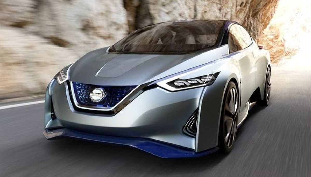 نيسان 2018 - أعلى 2018 Nissan Leaf Straight From The Future Carttraction تصميم