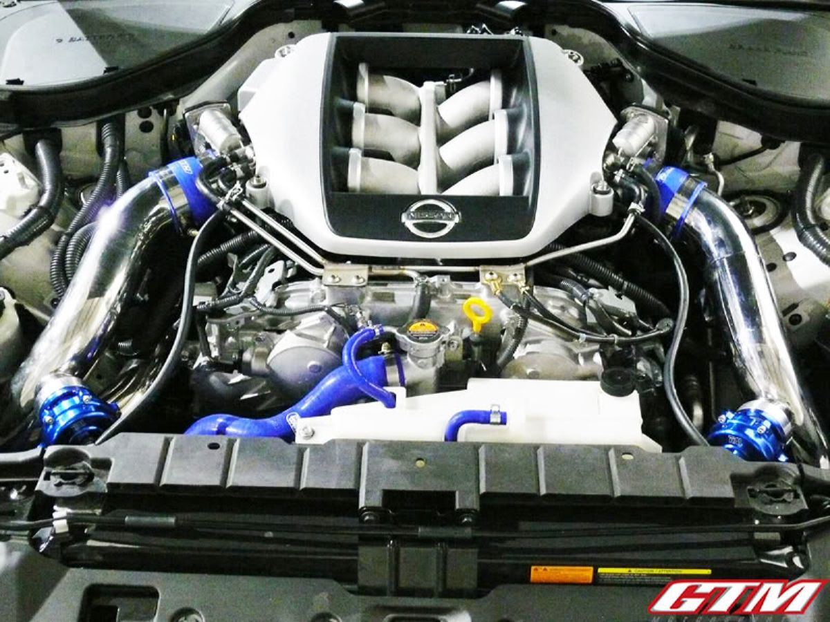 نيسان زد 370 تيربو - أعلى Build- 1000 Horsepower Twin Turbo Nissan 370z Part 1 Forcegt تصميم
