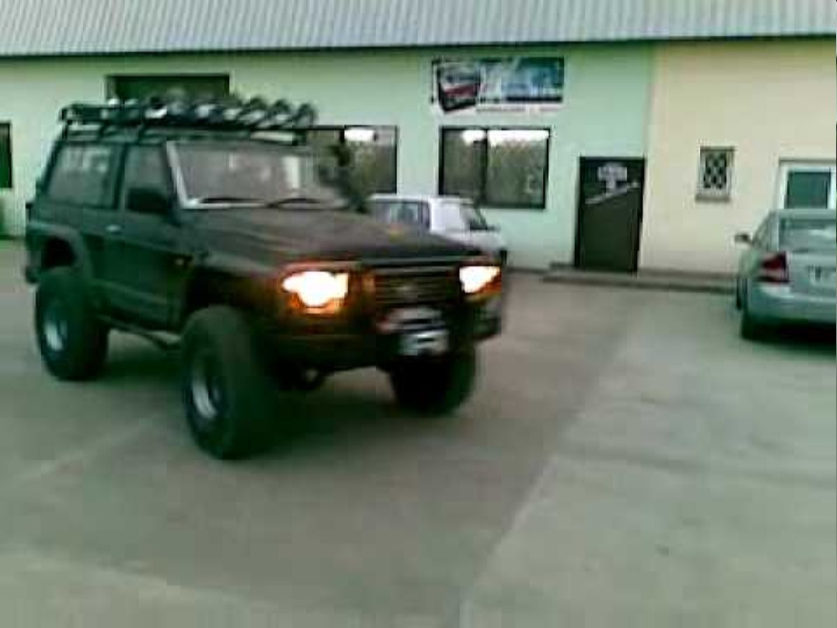 نيسان 6.2 - أعلى Nissan Patrol Y60 V8 6.2 Diesel Made In Karlowicz4x4.pl Youtube تصميم