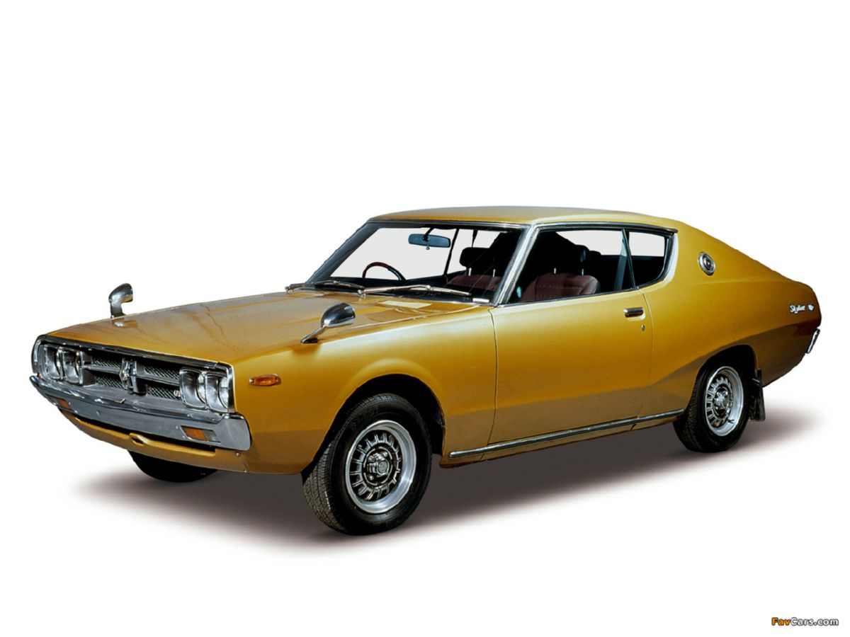 نيسان 77 - أعلى Of Nissan Skyline 2000gt X Coupe (kgc111) 1975–77 تصميم