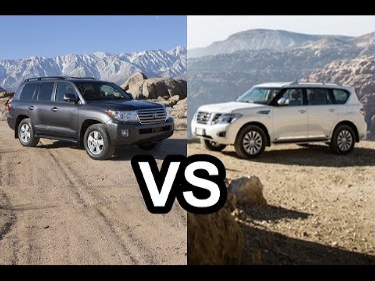 نيسان و كروزر - الأفضل 2015 Toyota Land Cruiser Vs 2015 Nissan Patrol Design! Youtube نموذج