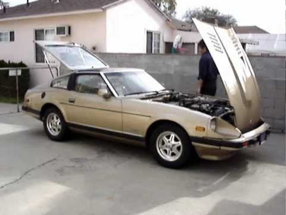 نيسان 1983 - الأفضل Datsunnissan 280zx 1983 Youtube نموذج