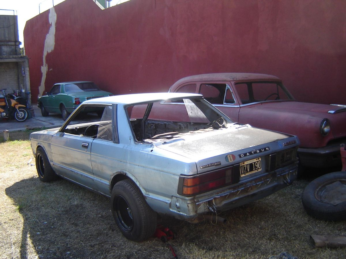 2 نيسان 1981 - الأفضل Seis66 1981 Nissan Bluebird Specs, Photos, Modification Info At أفكار